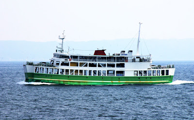 Kumamoto-Shimabara Ferry Kyushu Japan.