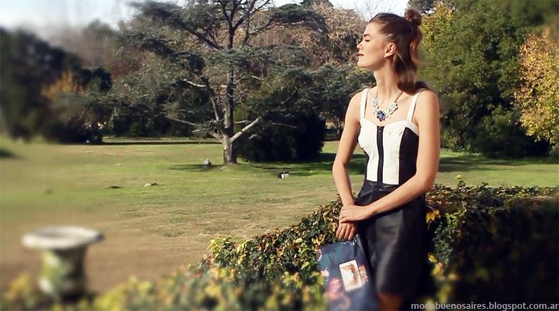 Vestidos primavera verano 2015 Uma. Moda argentina primavera verano 2015.