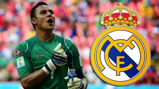 Keylor Navas ya es del Madrid