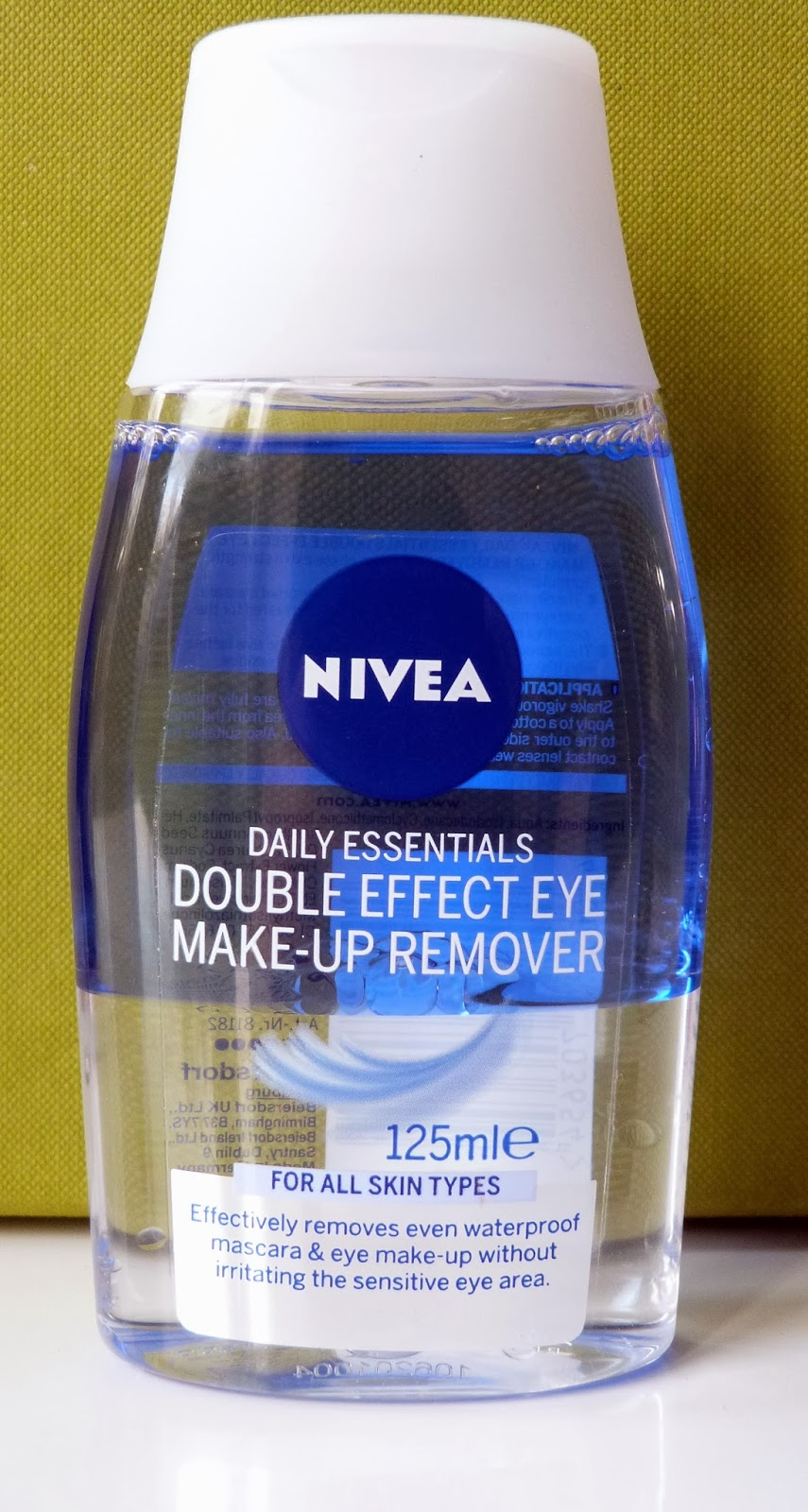 Nivea Double Effect Eye Make-up Remover