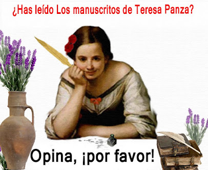 ¿Has leído LOS MANUSCRITOS DE TERESA PANZA?
