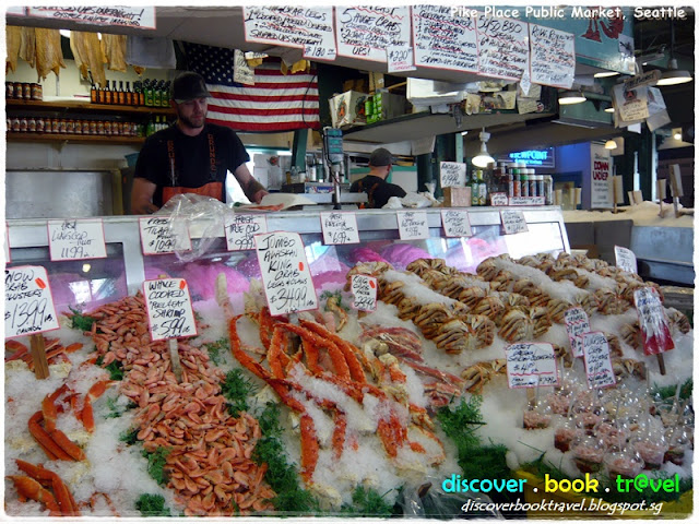 Pike place public market seattle discover book travel for Pike place fish