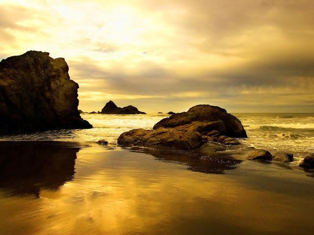 Sunset Beach Wallpapers, Sunrise Beach Wallpapers, Sunset, Sunrise, Beach, Wallpapers