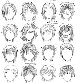 Style Wavy Hair on Manga Stringz  How To Create The Hair Of Your Manga