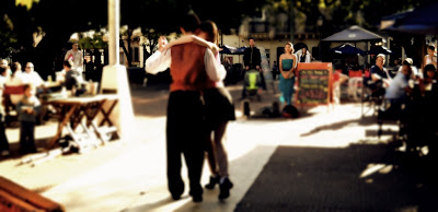 Tango en Plaza Dorrego