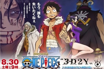 Subtitle indonesia .srt One Piece 3D2Y