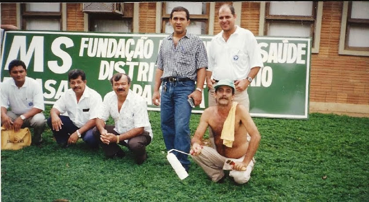 Flavio Santos, Manoel Albuquerque,Francisco Batista,Amarildo Paulon e Joo G dos Santos