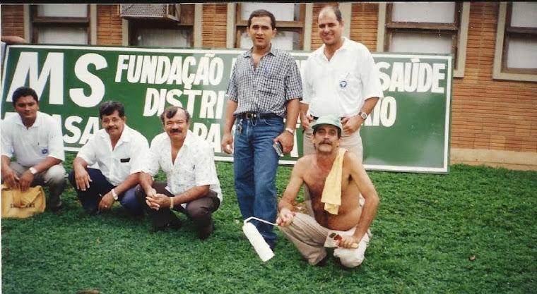 Flavio Santos, Manoel Albuquerque,Francisco Batista,Amarildo Paulon e João G dos Santos