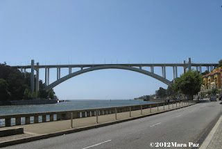 Arrabida Bridge across the Douro river