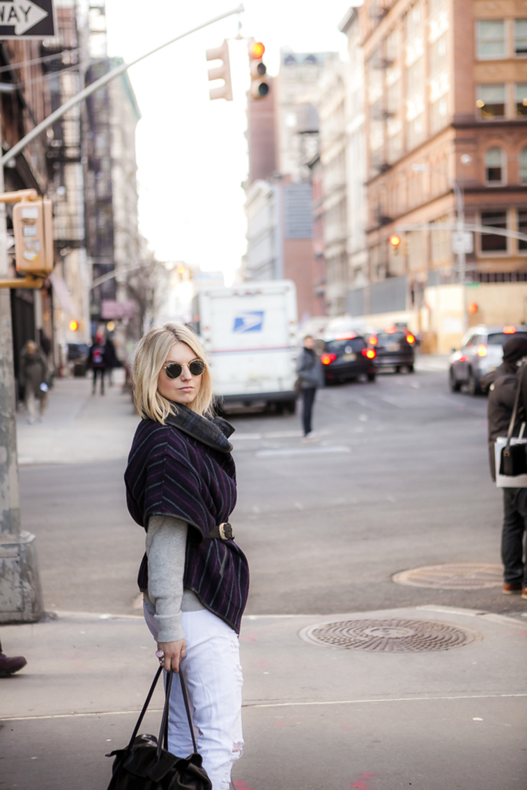 New York City, Soho street corner, Nolita