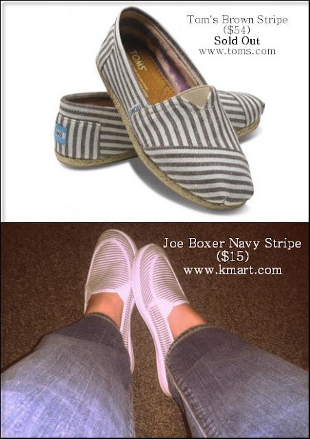 Tom's Brown Stripe