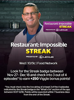 Restaurant Impossible, Viggle, Viggle Quest, Viggle Streak, Viggle Mom