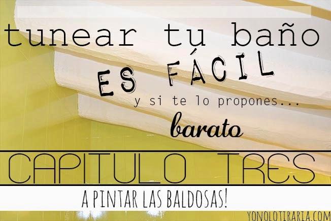 Baldosas Baño Sin Obra:Vamos a tunear el baño Capítulo 3 A pintar baldosas! – Paperblog