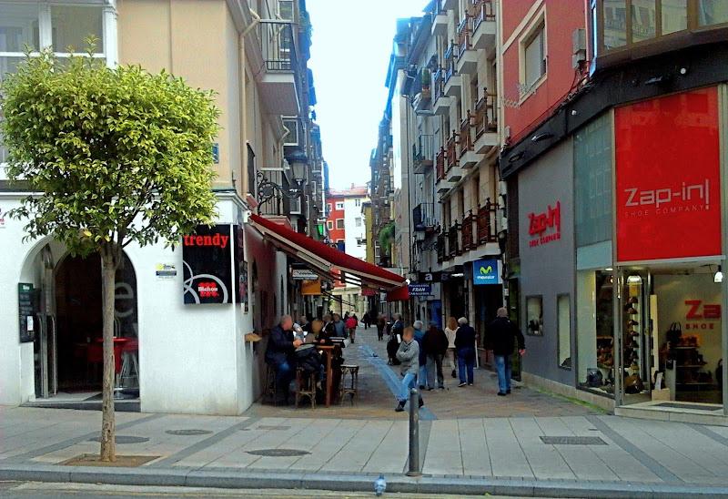 Calle del Arrabal en Santander