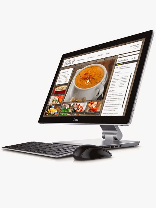 Design of the Dell Inspiron 23 All-In-One Desktop