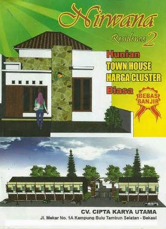 TOWN HOUSE NIRWANA RESIDENCE  Tambun-Bekasi