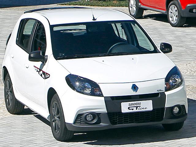 Renault Sandero 2013 GT line - branco