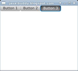 JavaFX example: ToggleGroup