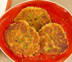 Weight Loss Recipes : Corn Skillet Cakes