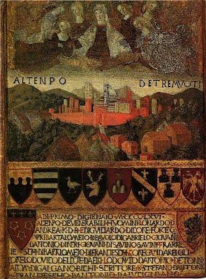 Francesco di Giorgio, Al tenpo de Tremuoti