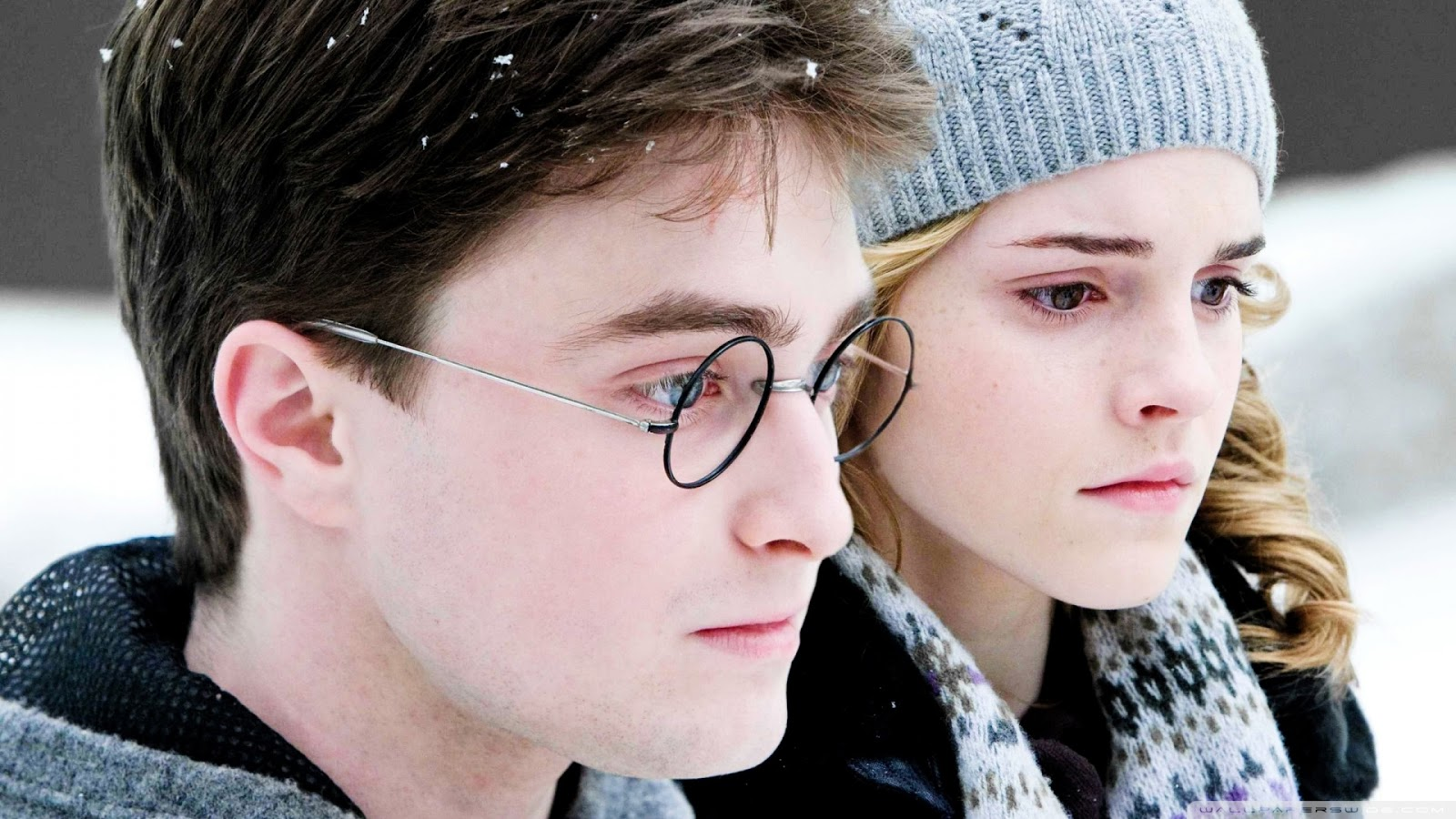 Harry Potter and Hermione Granger Wallpaper