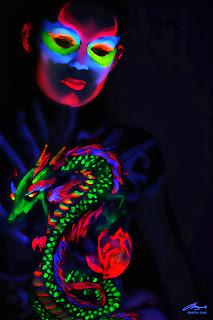 Glow Body Paint