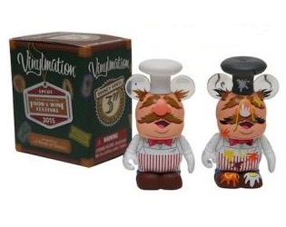 The Muppets Swedish Chef Vinylmation Eachez Vinyl Figure by Disney