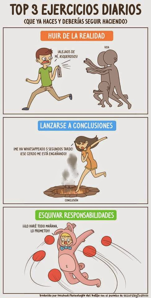 Top 3 ejercicios diarios