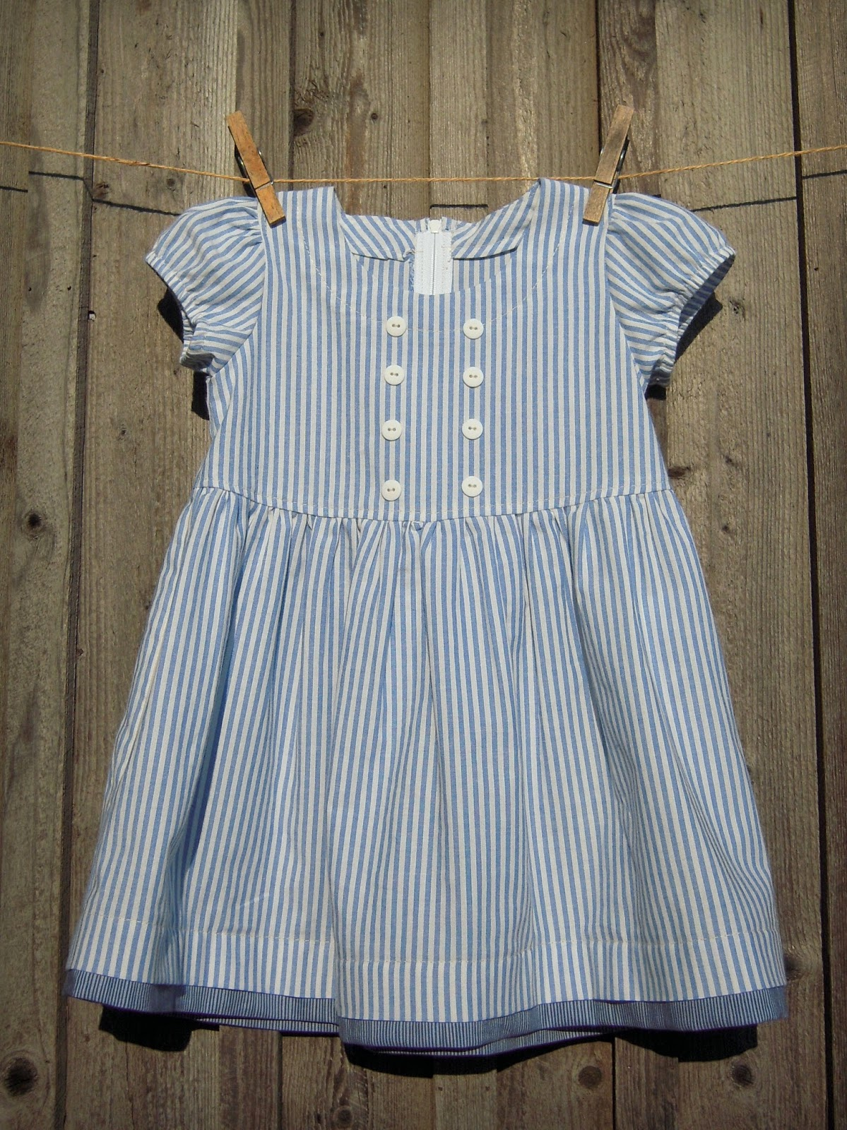 Greetings from Nelland!: OLD-FASHIONED BABY BLUE DRESS FOR ...