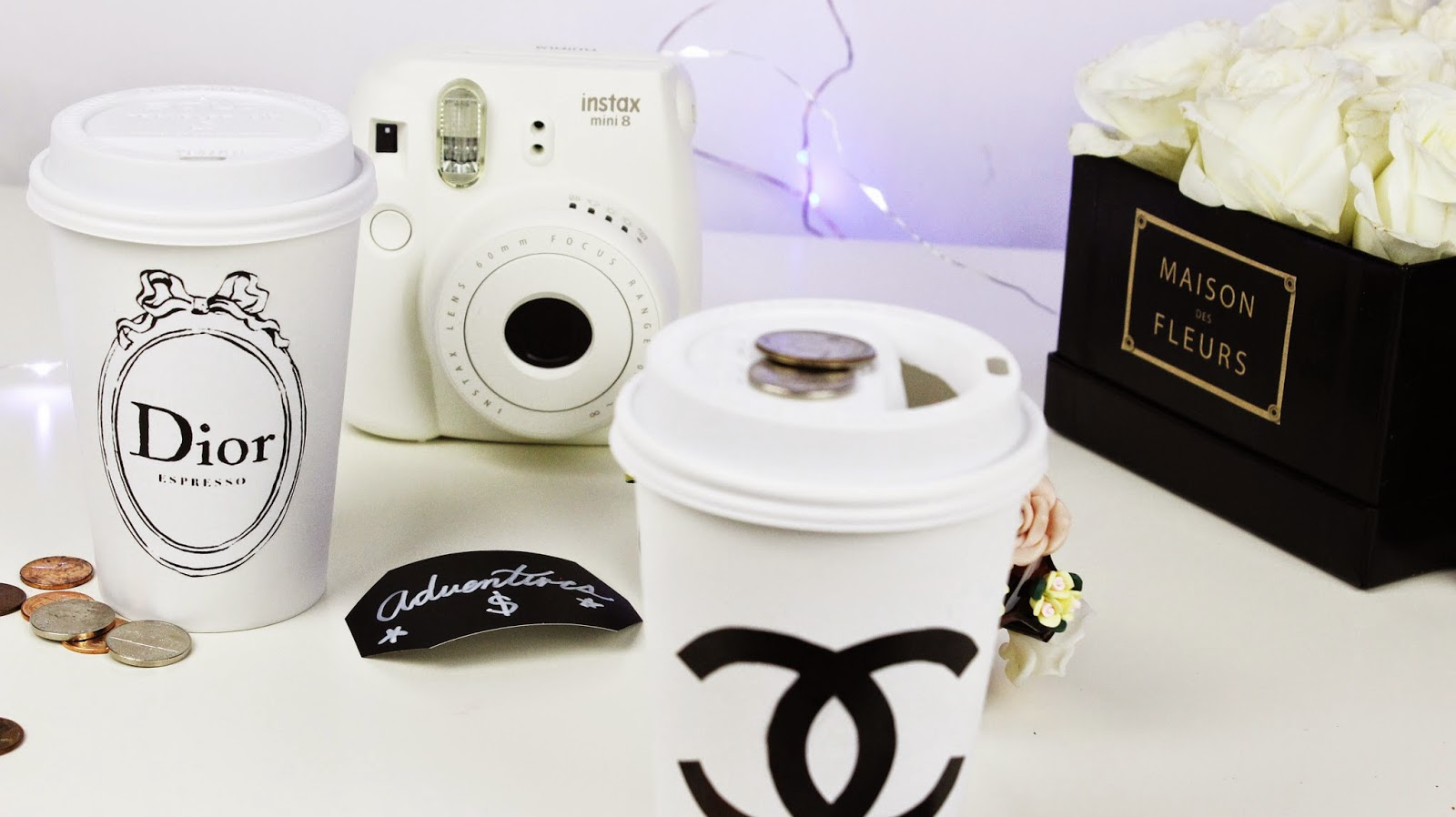 Hellomaphie: DIY Tumblr Room Decor ♥ Chanel Tray, Dior ...