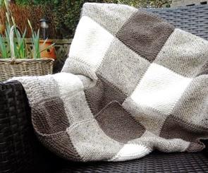 Free Knitting Pattern For Blanket Squares : Free Knitting Pattern for Blanket Squares
