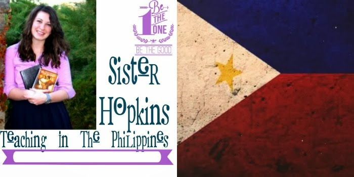 Sister Hopkins: Teaching In The Philippines