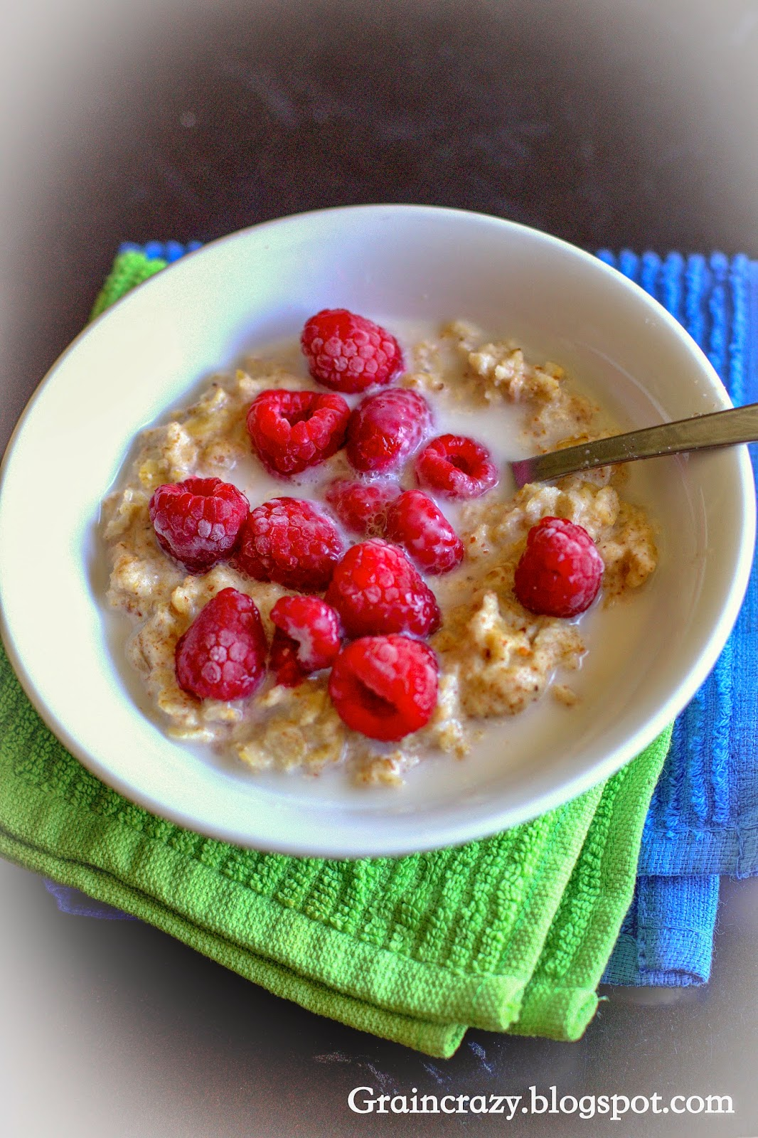Grain Crazy: Toasted Oatmeal and Almond Butter