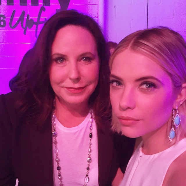 Marlene King and Ashley Benson