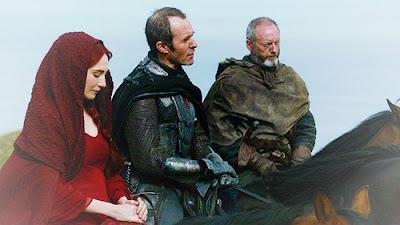 Melisandre, Stannis y Davos - Juego de Tronos en los siete reinos