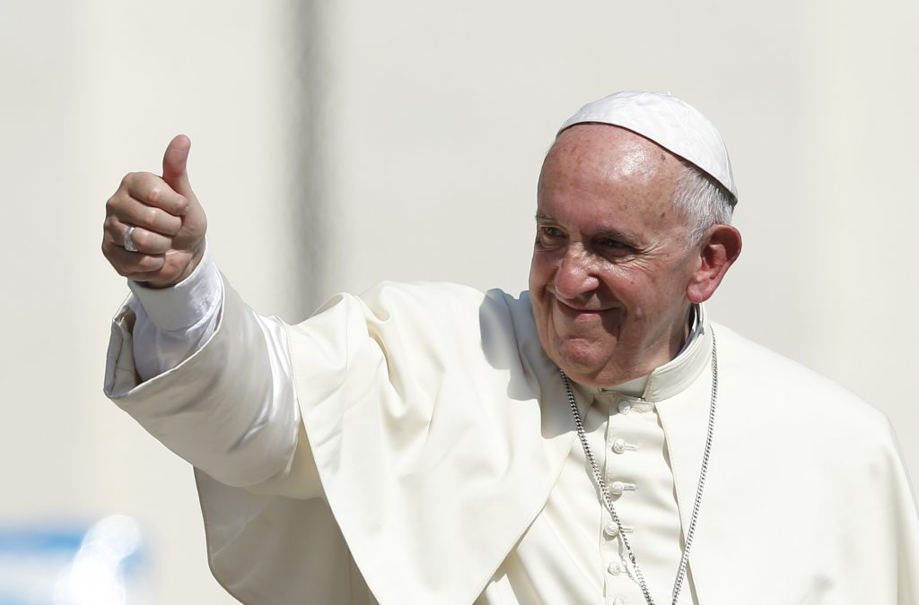 <b>Pope Agrees with Higher Things</b>