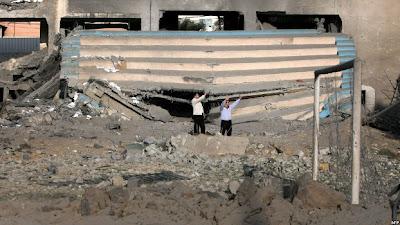 FOTO : Photo Kehidupan Baru Warga Gaza Usai Gencatan Senjata