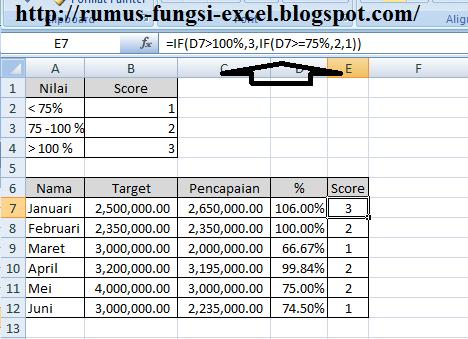 cara menggunakan fungsi if dengan conditional formatting