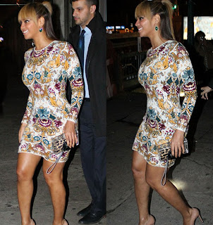 Beyonce Shows Off the Curves