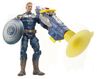 "Hasbro Marvel Universe 3.75"" Captain America Winter Soldier - SHIELD Captain America/Steve Rogers"