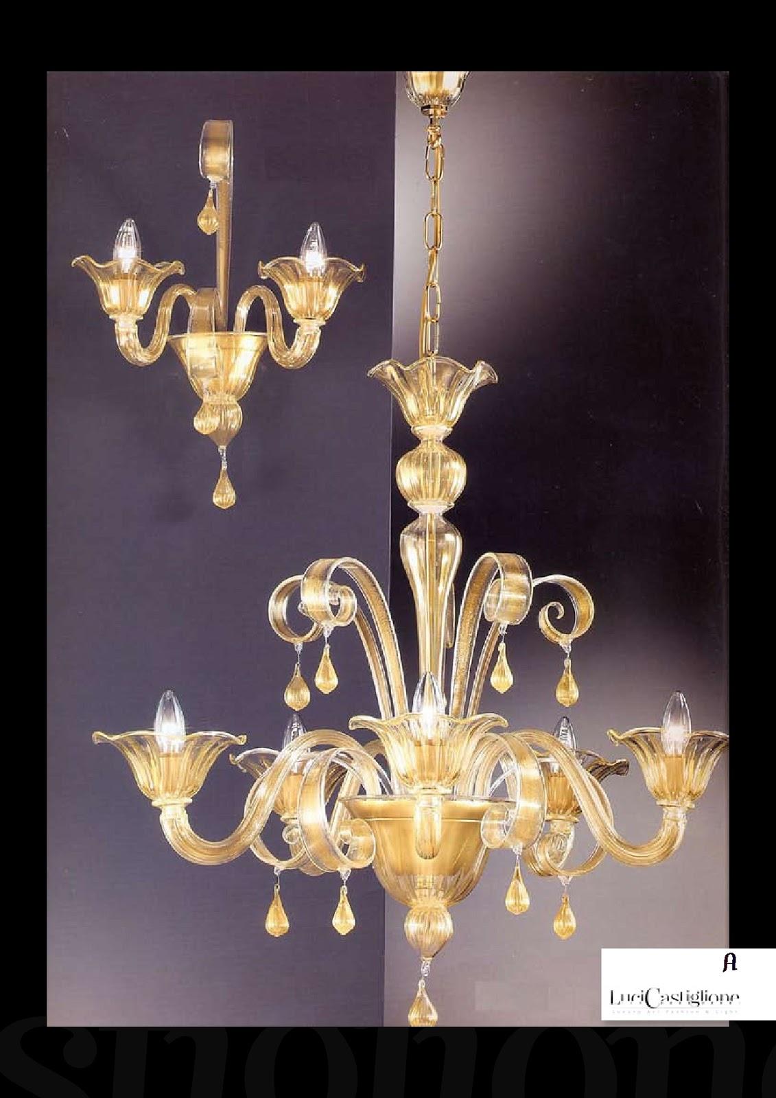 montaggio lampadari : Lampadari in vetro di murano: 484 lampadario di Murano vedi scheda