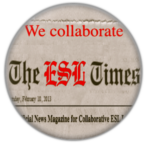 I collaborate with the ESL Times Magazine