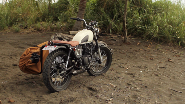 Psycho Racer : The Cariblanco : Custom Motorcycles ( Suzuki GN 125 and SuzukiGN 250 )