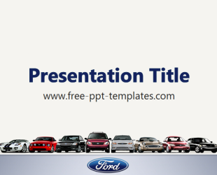 ford ppt template free powerpoint templates