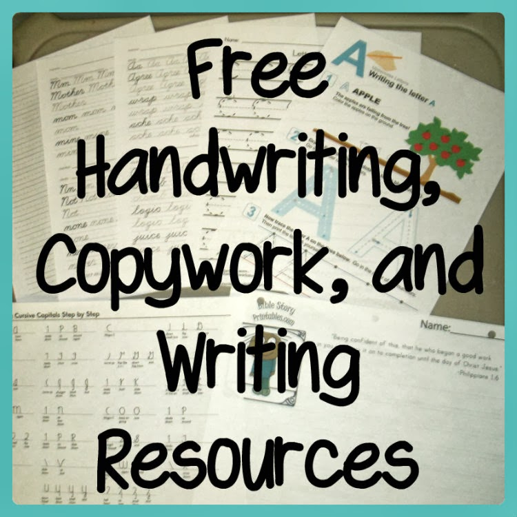 Handwriting Curriculum Homeschool