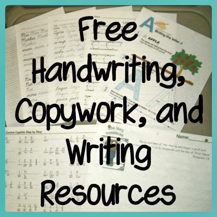 Handwriting Curriculum Homeschool