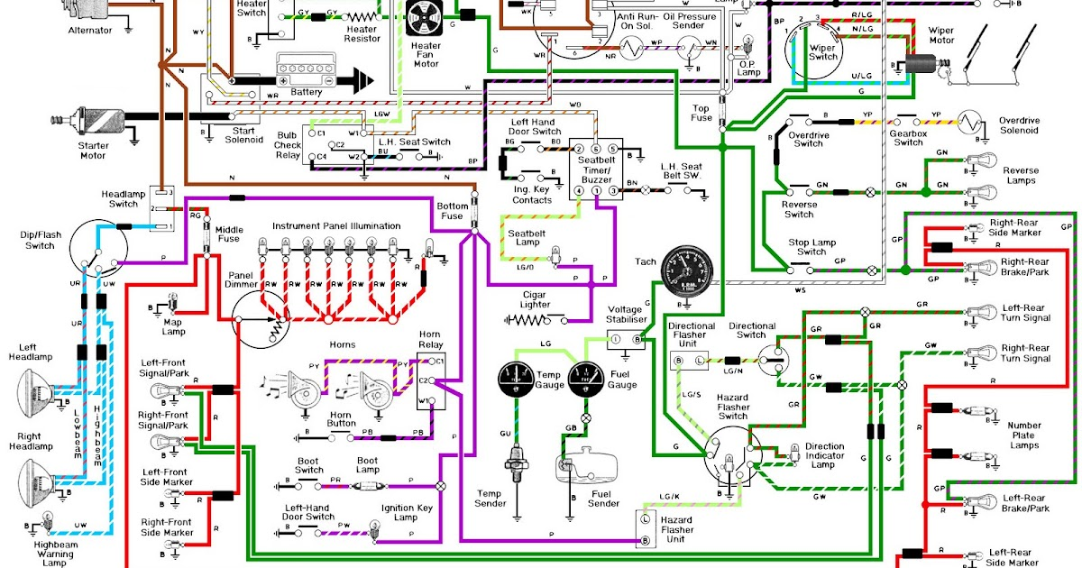 1995 Chrysler Dodge Wiring Diagram