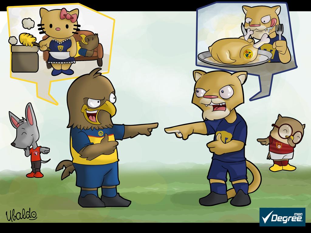 Toluca vs América versión los PicaPiedra – Fanbolero - imagenes chistosas de toluca vs america