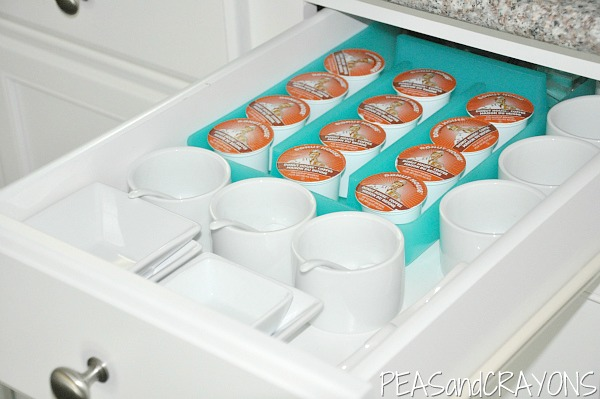 Cheap + Easy KCup Coffee Organization
