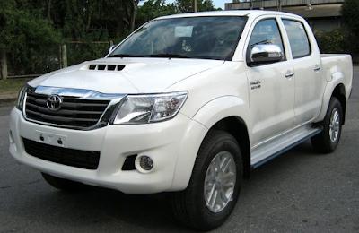 Eksterior Toyota Hilux Facelift
